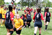 Rush at Lady Badgers Rugby Cup_